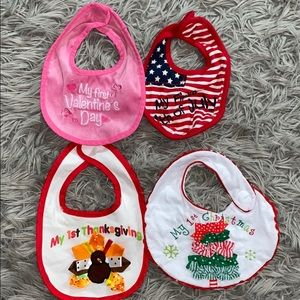 Baby's first bibs